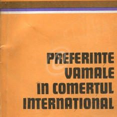 Preferinte vamale in comertul international