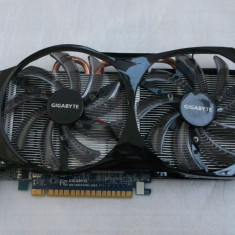 Placa video GIGABYTE GeForce GTX 650 Ti OC WindForce 2X 2GB GDDR5 128-bit