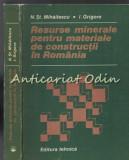 Cumpara ieftin Resurse Minerale Pentru Materiale De Constructii In Romania