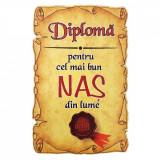 Magnet Diploma pentru cel mai bun NAS din lume, lemn, Alexer