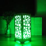 Lampa decorativa cu lumini colorate - floricele