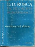 Cumpara ieftin D. D. Rosca In Filosofia Romaneasca - Tudor Catineanu - Tiraj: 4465 Exemplare