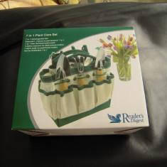 Set de gradina Reader's Digest format din 7 piese pt. ingrijit plante decorative