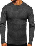 Pulover bărbați negru Bolf 8512