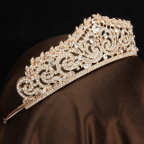 Diadema / Tiara mireasa Princess Gold