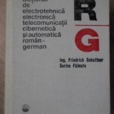 DICTIONAR DE ELECTROTEHNICA, ELECTRONICA, TELECOMUNICATII, AUTOMATICA SI CIBERNE