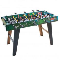 Masa Joc de Mini Fotbal Foosball cu 20 Jucatori, Dimensiuni 101x50x65cm