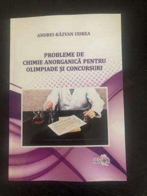Probleme de chimie anorganica pentru olimpiade si concursuri foto