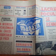 Magazin 26 iunie 1971-eruptia vulcanului etna,interviu cu lia manoliu