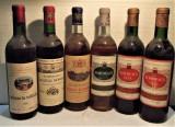 LOT E- BORDEAUX - VIN DE COLECTIE, ANII 1966/1968/1968/3 sticle anii 60/70