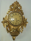 Superb ceas de perete antic in stilul Louis