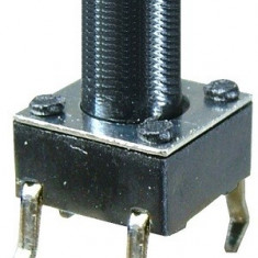 Push buton 6x6mm, inaltime 19mm - 124314