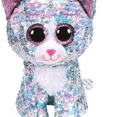 Jucarie De Plus Ty Beanie Boos Flippables Whimsy Blue Cat