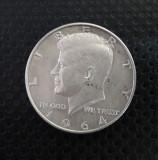 HALF DOLLAR 1964 argint