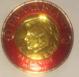 Cumpara ieftin Davaar Island 1968, Kennedy, folie aur, mnh, Nestampilat