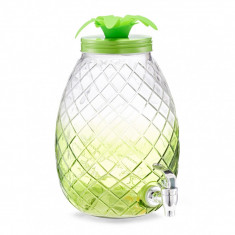 Dispenser pentru bauturi Pineapple, 4,5 L, l24,5xA19xH29,5 cm