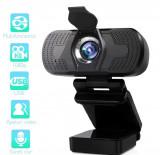 Cumpara ieftin Camera web, SS350 , 1080p, 30FPS, anulare zgomot de fond, capac securitate, 1.3 Mpx- 2.4 Mpx, Microfon