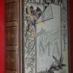 DITO und IDEM ( CARMEN SYLVA si Mite KREMNITZ ) - ASTRA - Roman ( coperta deosebita ! ), Bonn 1866 , princeps !!!