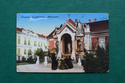 20ADE - Vedere - Carte postala - Timisoara - Piata Maria foto