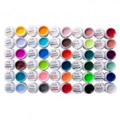 Set geluri color pentru unghii Miley, 30 bucati