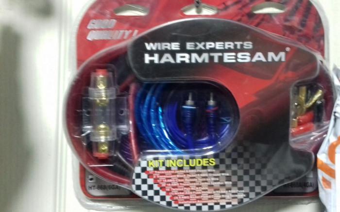 Kit cabluri subwoofer Harmtesam HT-668