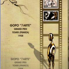 ROMANIA 2008 - MAPA FILATELICA GOPO 7 ARTE - LP 1808c, Nestampilat