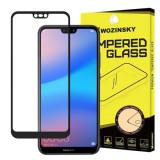 Folie Sticla Huawei P20 Lite Wozinsky 5D Full Glue Negru