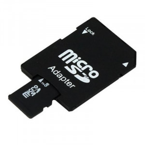 Card memorie micro SDHC, 2 GB + adaptor