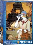 Puzzle Eurographics - 1000 de piese - Paris Adventure-Helena Lam