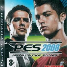 Joc PS3 PES 2008 Pro evolution soccer
