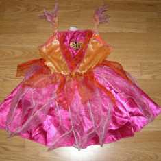 Costum carnaval serbare zana fluturas printesa de 1-2 ani, Din imagine