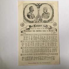 Der Kaiser Ruft - Franz Joseph, Wilhelm, partitură
