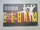 CULTURISM * Programe -  Lazar Baroga -  Editura Stadion, 1970, 87 p.