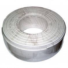 Cablu coaxial RG6U CCS 48 x 0.12, rola 100 m, General