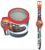 Ceas Junior DISNEY PIXAR WATCH Model CARS - Tin box 561238
