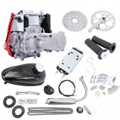 Kit motor (4 TIMPI) bicicleta 80 cc (model nou)