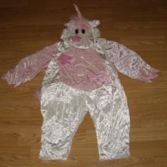 costum carnaval serbare animal unicorn ponei pentru copii de 2-3 ani