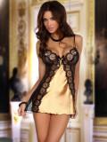 Desu Sexy Michele Gold - Auriu, 2XL