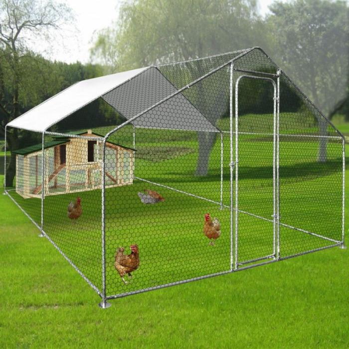 Tarc, solar, garaj, incintă pentru animale de companie 3m 4m 2m Zipper