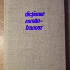 DICTIONAR ROMAN FRANCEZ - IRINA ELIADE, JANA GHEORGHIU, LILIANA POPOVICI-PAMFIL