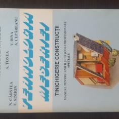 TEHNOLOGIA MESERIEI - Tinichigerie Constructii - Manual anii II si III, 1999