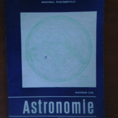 Astronomie. Manual pt clasa a12a-Gh.Chis