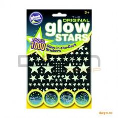 Stickere 1000 stele fosforescente