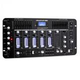 Auna Pro Dj rezident Kemistry 3 B 4 canale DJ mixer Bluetooth USB SD Phono negru