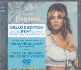 CD + DVD:  Beyoncé – B'Day ( 2007, originale, stare foarte buna )