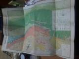 Harta geologica a muntilor Hasmas Ciuc, color, cca. 1941