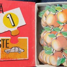 """joc pentru copii perioada comunista """" numara si potriveste """""""