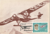 Romania, Aeromfila '81, avionul Fokker, carte postala ilustrata
