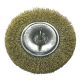 Perie sarma alama tip circular cu tija 100mm