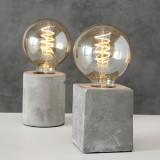 Lampa de birou Stone Gri, Modele Asortate
